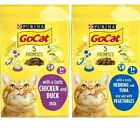 GO-CAT COMPLETE - (825g - 10kg) - Purina Adult Cat Food PawMits Dry Pet Feed bp