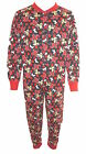 Disney Minnie Mouse Girl's All in One Sleepsuit Pyjamas Age 4-10 Years
