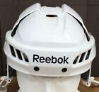 Reebok 11K Pro Stock Hockey Helmet White Black All Sizes New Blackhawks 5001