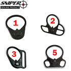 SNIPER Mil Spec Buffer Tube End Plate with Sling Adapter Hard Coat QualitySteel