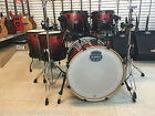 Mapex Armory Magma Red Birch Maple 6pc Shell Pack Black Hardware 22x20 Monster!
