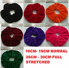 PAIR OF EXTRA LARGE HAIR SCRUNCHIES ELASTIC SCRUNCHY HAIR BOBBLES HAIR SCRUNCHIE