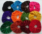 PAIR OF LARGE HAIR SCRUNCHIES ELASTIC SCRUNCHY HAIR BOBBLES HAIR SCRUNCHIE BANDS