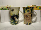 Ulster Weavers Tasse MEADOW & SUNFLOWER  2 Motive zur Auswahl! Katzen Cat