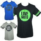 LKI Loosekid Industries LIVE MOTO Mens T Shirt Tee Top (S M L XL XXL) NEW