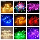 32'/64' 100/200 LED 8 Mode Fairy String Light Garden Party Xmas Wedding Holiday