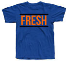"""Fresh"" SHIRT IN JORDANS DOERNBECHER 8 VIII ROYAL BLUE ELECTRO ORANGE COLORWAY"