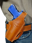 New Barsony Tan Leather Pancake Gun Holster Astra Beretta Full Size 9mm 40 45