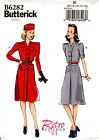 Butterick Pattern B6282 6282 Ladies Dress Retro '41 8-16 16-24 NEW Vintage