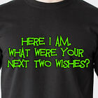 what date is the playstation 4 coming out - here I am. What were your next two wishes? date naughty sex retro Funny T-Shirt