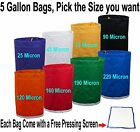 Pro Essense Extractor Kit Herbal Ice Bubble Hash 5-Gallon Bag W/ Pressing Screen