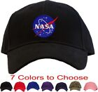 Nasa Meatball Insignia Embroidered Baseball Cap - Available in 7 Colors - Hat