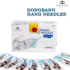 Dong Bang Disposable Acupuncture Chinese Medical Hand Needles 0.18x8mm 1000pcs