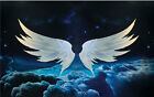 3D 4D Angel's Wings Hand Painted Wall Paper Wall Murals Print Floor Wallpaper