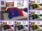 NFL Licensed 2 Piece Twin Comforter & Sham Bed Set In A Bag - Choose Team