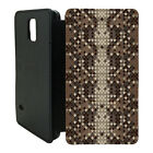Animal Prints Printed Phone Flip Case Cover For Samsung Galaxy - T75
