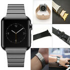 Stainless Steel Wrist Strap Butterfly Lock Band For Apple Watch iWatch 38mm/42mm