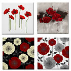 Floral Red Poppy Designs Wall Tile/Table Coaster~Mosaics~BN~Home BBQ Patio Decor