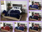 MLB Licensed 3 Piece Full Comforter & Sham Bed Set In A Bag - Choose Your Team