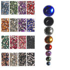 HR03 1,000 Pcs, 10,000 Pcs High Qty Nail Art Flat Acrylic Rhinestones-2mm Round