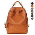 CASUAL EVERYDAY SCHOOL BB CAMPUS BOOK BAG BACKPACK GENUINE COWHIDE LEATHER