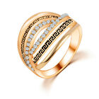 1 Pc Women Fashion Annulus Shape Ring Vintage Wedding Jewelry Accessories 6#-9#