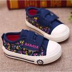 NEW Toddler Children Kids Girl Sports Sneakers Canvas Casual Shoes