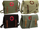 Vintage Medic Nato Red Cross Canvas Military Shoulder Bag