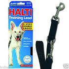 HALTI SOFT DOG PUPPY TRAINING LEAD 8 USES DBLE ENDED 3 LENGHTS HAND FREE 2 DOGS