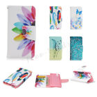 Hot Stand Pattern Leather Case Flip Card Pouch Wallet Cover For iPhone 5 5S SE 6