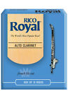 Rico Royal Alto Clarinet Reeds, 10-pack, Model, RDB10