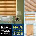 Wood blinds - BALI SWEET MAPLE - 2 Year guarantee - Style Express venetian
