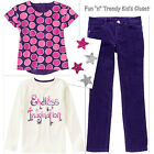 NWT Gymboree FAIRY TALE FOREST Girls Size 4 5 Pants Shirts Tops Hair 4-PC SET