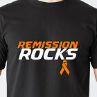 Remission ROCKS cure breast Fight Cancer 25% Donation to Leukemia Funny T-Shirt