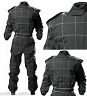 Proban RACE SUIT KART AUTOGRASS BANGER Suit BLACK all ADULT sizes Fireproof
