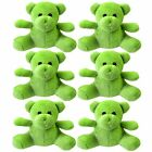 15 Small Mini Green Teddy Bear Soft Toys