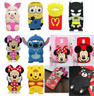 3D Cute Animals Cartoon Soft Silicone Protector Case For Samsung Phones Cover