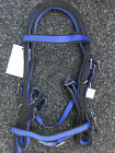 NEW COMPLETE WEBBING BRIDLE ALL SIZES includes MATCHING NON SLIP REINS
