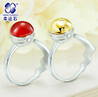 Anime Pokemon Pokeball GS Ball Ring Openable 925 Sterling Silver Great Gift