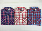 SUPERDRY Wstcot the Paperweight Plaid Cotton Casual Shirt  Mens S,M,L,XL,XXL NEW