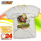 BOB MARLEY & HOMER The Simpsons t-shirt SERIE TV CARTOON cartoni maglia felpa