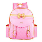 Fashion Kids Girls Princess PU Pupil School Shoulder Bags Backpack USA Store