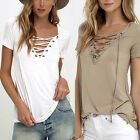 New Fashion Womens Loose Pullover T Shirt Long Sleeve Cotton Tops Shirt Blouse G