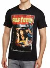 Pulp Fiction - T-Shirt poster Uma on bed - En licence officielle