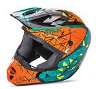 Fly Racing Kinetic Crux Graphic Teal Orange Off Road Helmet