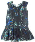 "DIESEL ""Batik"" womens dress gown (black/navy) NEW"