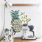 "Adesiviamo ""Pineapple"" Tropical Ananas Wall Sticker Adesivo Murale"