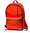 Converse Rubber Shoulder Backpack Bags 10001329 Signal Red Coral Unisex New