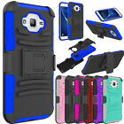 Outer Box Hybrid Belt Clip Holster Stand Case Cover for Samsung Galaxy J7 2016