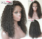 6A Brazilian Hair Lace Front/Full Lace Wigs Curly Human Hair Glueless Best Wigs